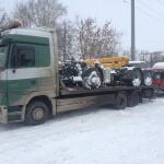 транспортировка грузовиков