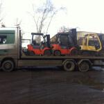 грузовой эвакуатор погрузчиков